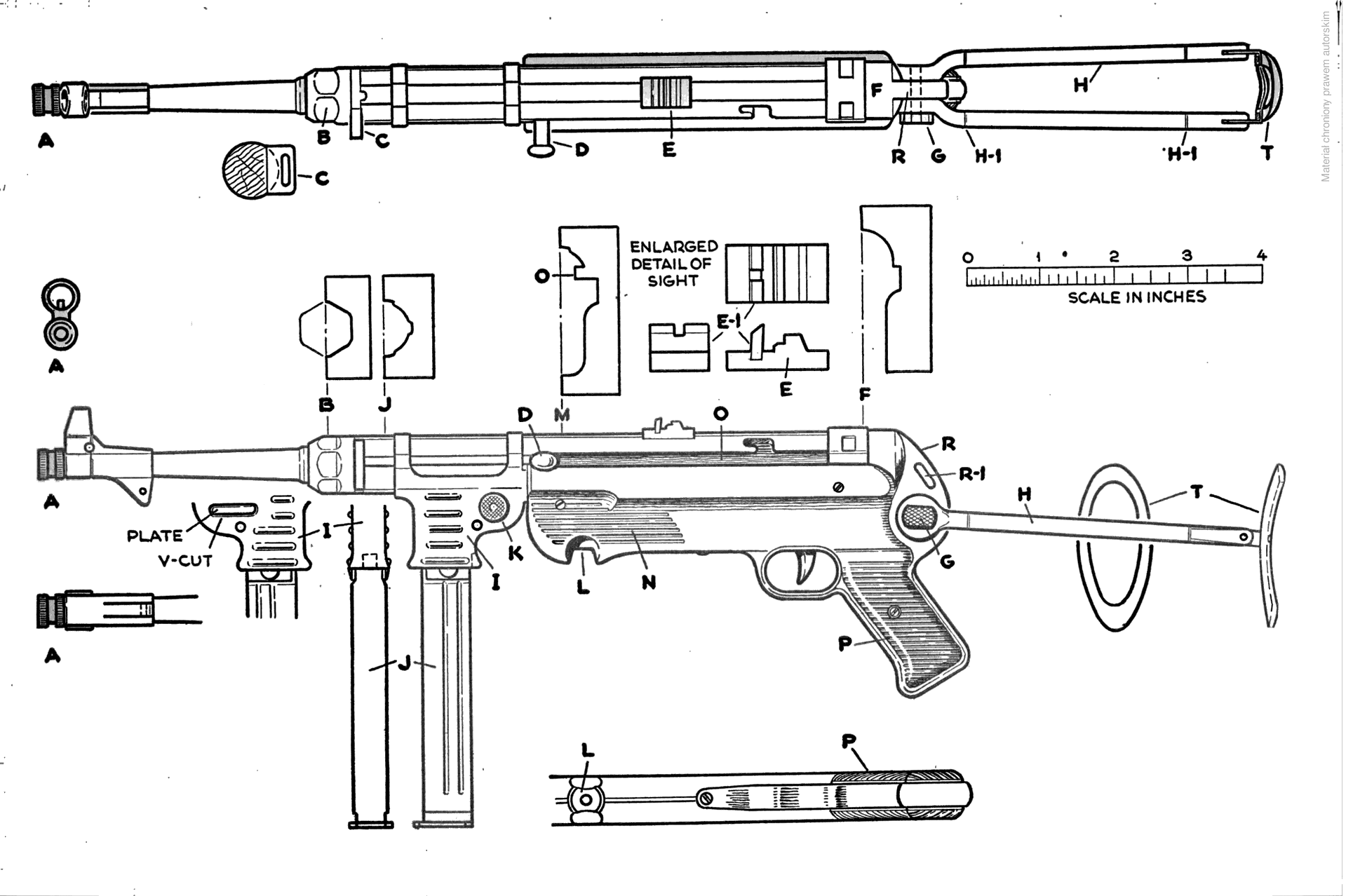 MP 40 blueprint