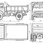 MAZ-503 blueprint