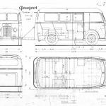 Peugeot D4 blueprint