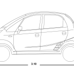 Tata Nano blueprint