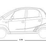Tata Nano blueprint