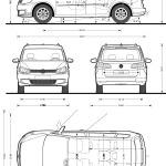 Volkswagen Touran blueprint