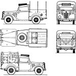 Austin 10HP blueprint
