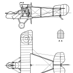 Airco DH.2 blueprint