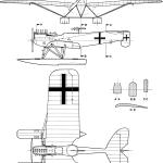 Hansa-Brandenburg W.29 blueprint