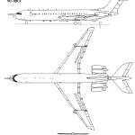 Vickers VC10 blueprint