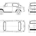 ZAZ 965 blueprint