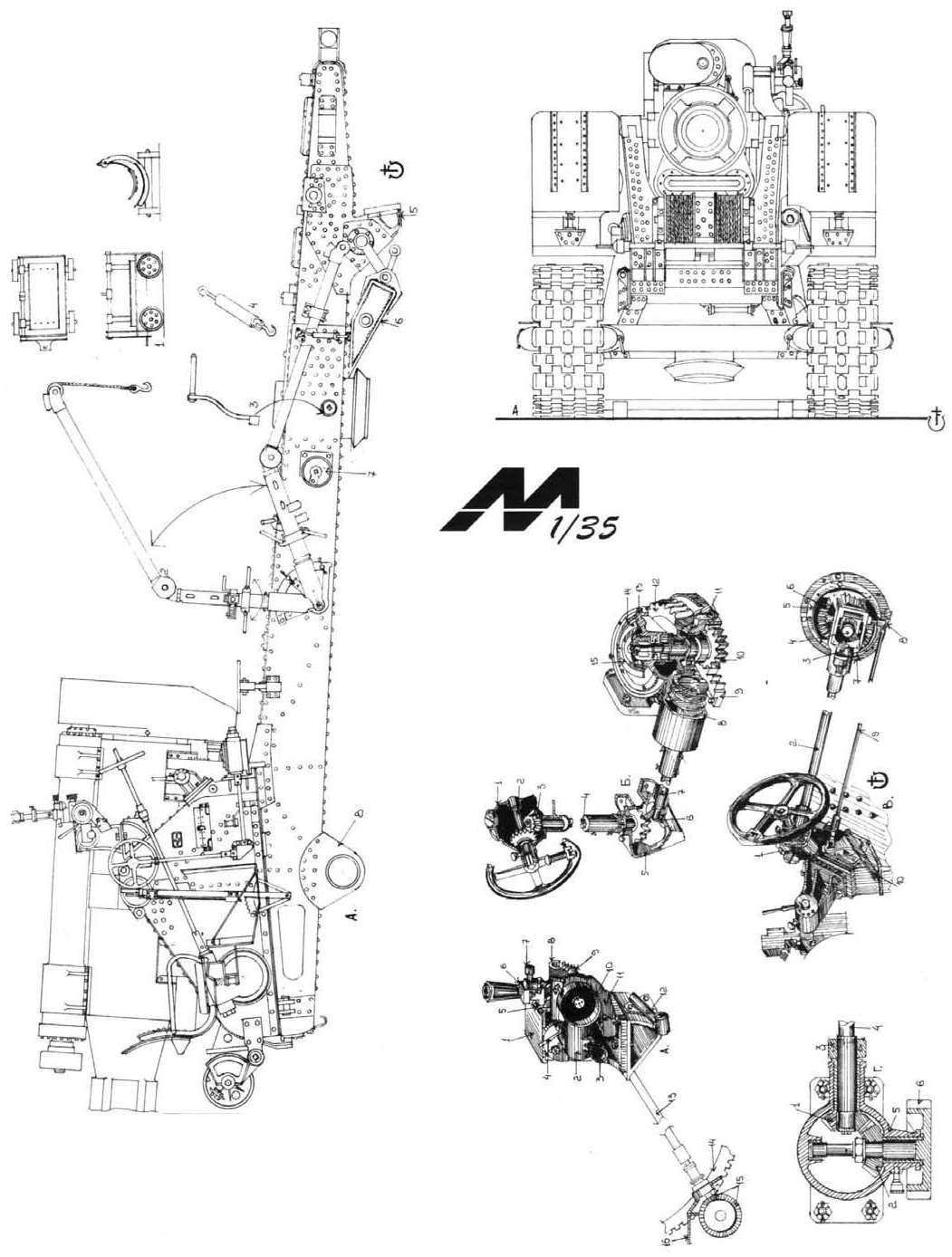 M Bel 203 mm howitzer m1931 b 4 blueprint free blueprint for 3d modeling