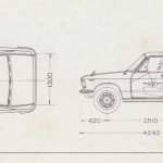 Isuzu Florian blueprint