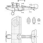 Martinsyde Buzzard blueprint