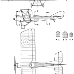 Martinsyde G.100 blueprint