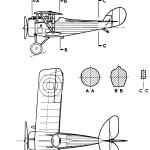 Nieuport 27 blueprint