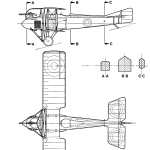 SPAD A.2 blueprint