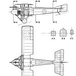 SPAD A.2 blueprint