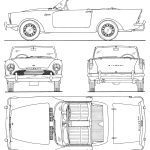 Sunbeam Alpine blueprint