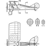 Thomas-Morse S-4 blueprint