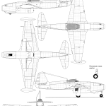 Yak-17 blueprint