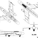 Yak-25 blueprint