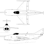 Yak-36 blueprint