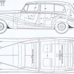 Rolls-Royce Silver Wraith blueprint