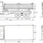 Magirus-Deutz 232 blueprint
