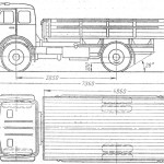 MAZ-500 blueprint