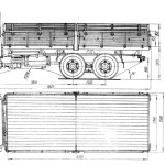 MAZ-514 blueprint