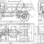 MAZ-525 blueprint