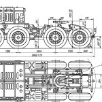 MAZ-537 blueprint