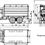 Ural-5557 blueprint
