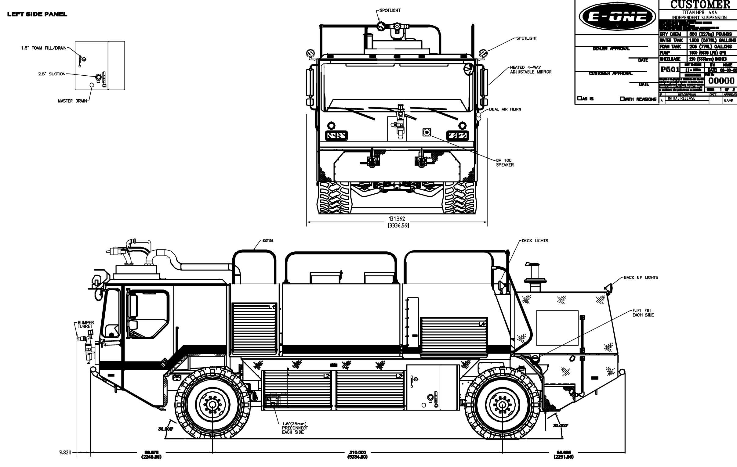 Titan HPR 4x4 blueprint