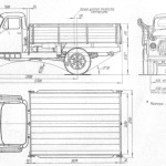 GAZ-53 blueprint