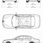 Jaguar S-Type blueprint