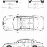 Jaguar S-Type blueprint