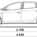 Lancia Delta blueprint