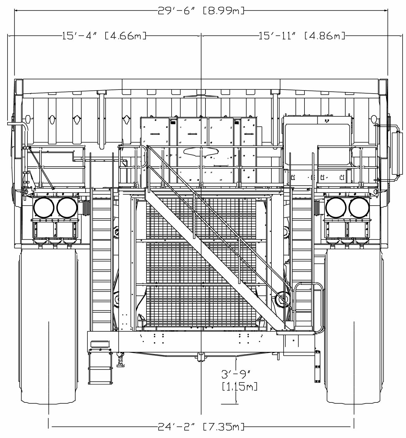 Liebherr T 282B blueprint