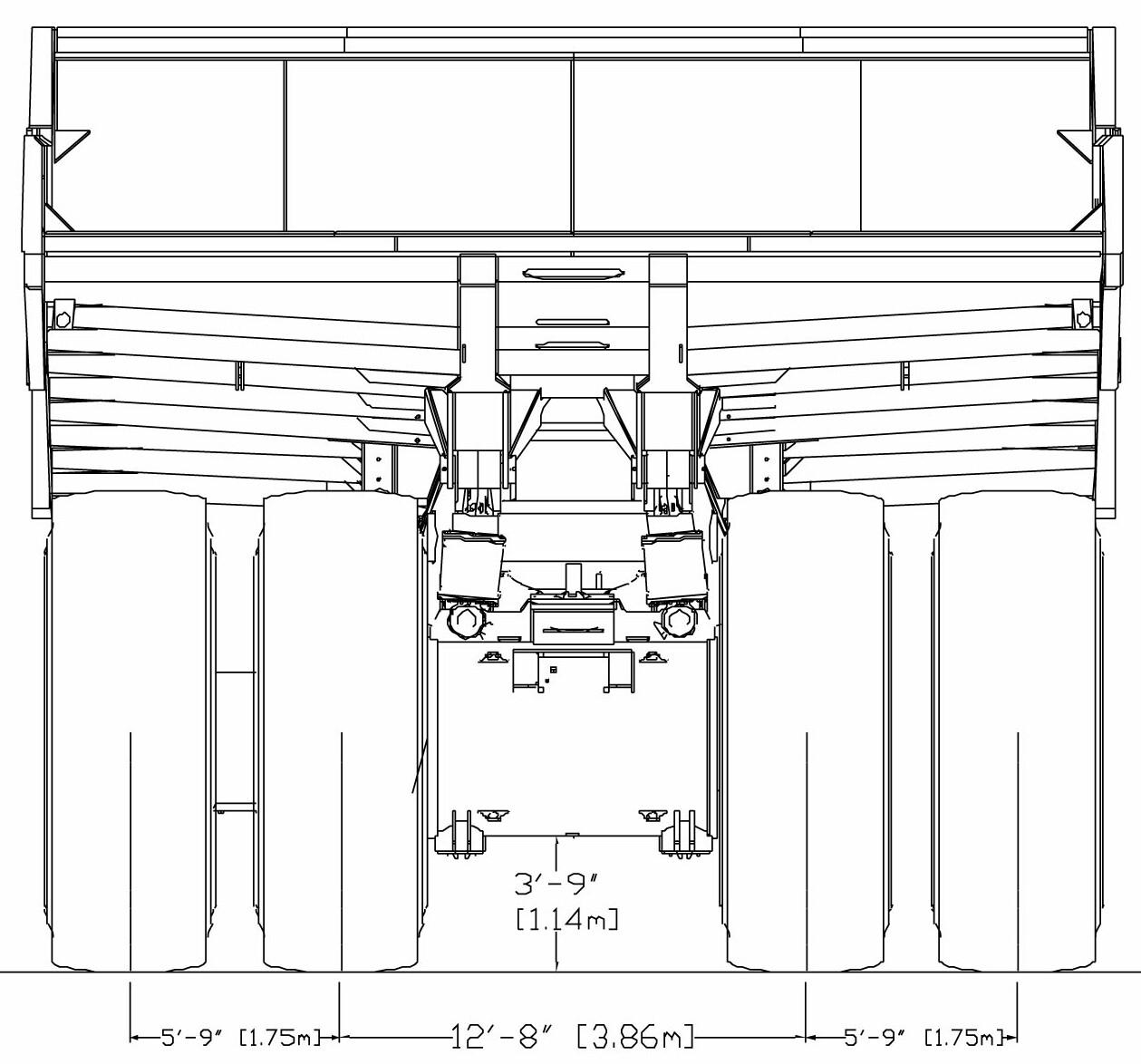 Liebherr T 282B blueprint
