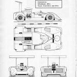 Chaparral 2G blueprint