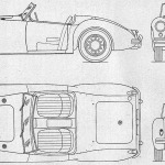 MG MGA blueprint