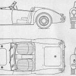 MG MGA blueprint