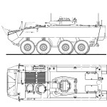 Mowag Piranha IIIC blueprint