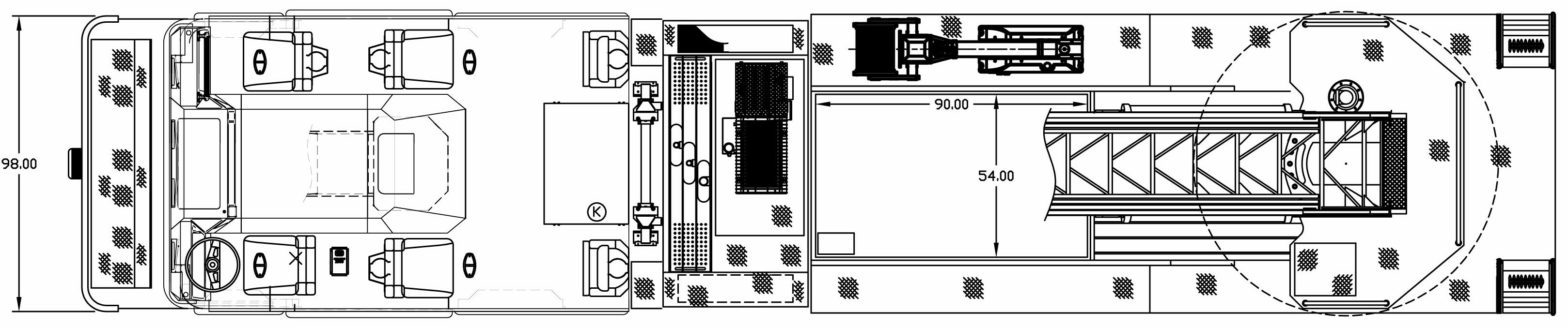 Seagrave Aerial 100 blueprint