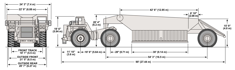 Terex BD 270 blueprint