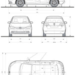Volkswagen Golf Plus blueprint