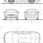 Volkswagen Passat CC blueprint