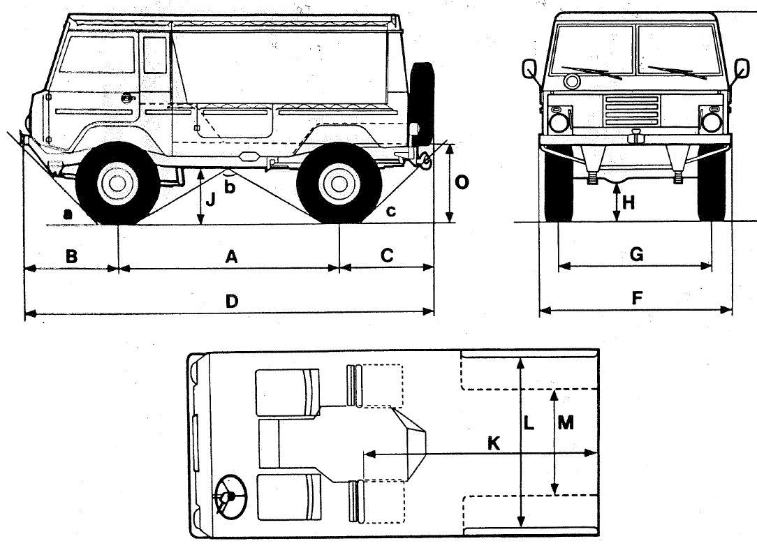 Volvo C303 blueprint