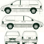 Dodge Grand Caravan blueprint