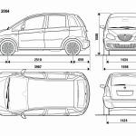 Lancia Musa blueprint