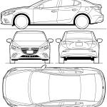 Mazda3 blueprint