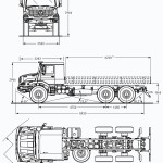 Mercedes-Benz Zetros blueprint